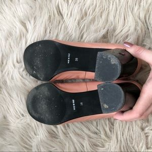 Anyi Lu Shoes - Anyi Lu Pink Patent Ballet Heels